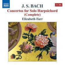 Bach - CONCERTOS FOR SOLO HARPSICHORD 2CD ELIZABETH FARR