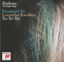 BRAHMS... - THE PIANO TRIOS 2CD AX, KAVAKOS, YO-YO MA