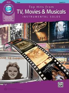 TV, MOVIES & MUSICALS. TOP HITS FROM... INSTRUMENTAL SOLOS LEVEL 2-3 + CD