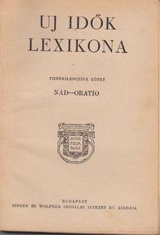 Herczeg Ferenc - Uj idők lexikona XIX. kötet [antikvár]