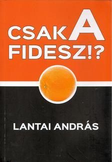 Lantai András - Csak a Fidesz!? [antikvár]