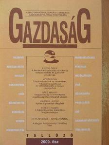 Akar László - Gazdaság 2000. ősz [antikvár]