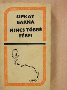 Sipkay Barna - Nincs többé férfi [antikvár]
