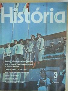Balogh Sándor - História 1981/3. [antikvár]