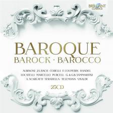 ALBINONI, BACH, CORELLI, COUPERIN, HANDEL - BAROQUE 25CD