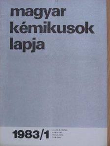 Andor József - Magyar Kémikusok Lapja 1983. január-december [antikvár]