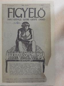 Elek Artúr - Figyelő 1905. Január [antikvár]