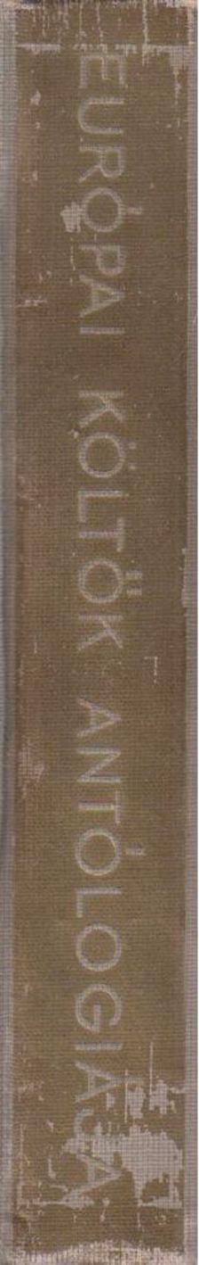 Faludy György - Európai költők antológiája [antikvár]