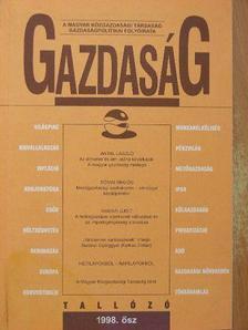 Antal László - Gazdaság 1998. ősz [antikvár]