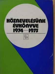 Dr. Arató Ferenc - Köznevelésünk évkönyve 1974-1975. [antikvár]