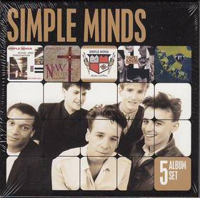 BEETHOVEN - 5 ALBUM SET 5CD SIMPLE MINDS