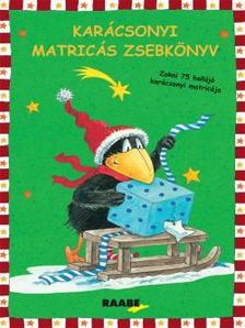 RAABE TANÁCSADÓ ÉS KIADÓ KFT - Zokni, a kis holló - Matricás zsebkönyv karácsonyra