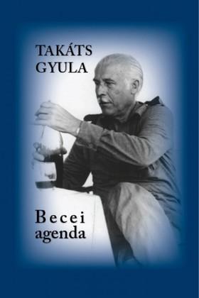 Takáts Gyula - Becei AGENDA 1967-1995. Pincenapló jegyzetek
