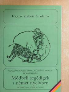 Horváth Iván - Módbeli segédigék a német nyelvben [antikvár]