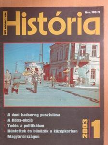 Kádár Gábor - História 2003/1. [antikvár]