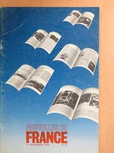 Claude Lelouch - Nouvelles de France 1er Septembre 1978, No 37 [antikvár]