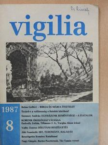Belon Gellért - Vigilia 1987. augusztus [antikvár]