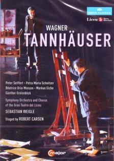 Wagner - TANNHAUSER 2DVD OPERA BARCELONA SEIFFERT,OMBUENA,EICHE,SCHNITZER,GROISSBÖCK,WEIGLE