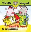 BRÜCKNER JUDIT - TRIXI KÖNYVEK - REZSŐ ÉS DEZSŐ- AZ AUTÓVERSENY