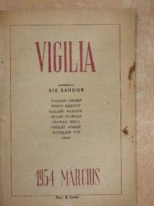 Csanád Béla - Vigilia 1954. március [antikvár]