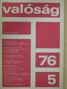 Burgerné Gimes Anna - Valóság 1976. május [antikvár]