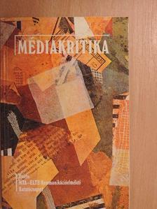 Andok Mónika - Médiakritika [antikvár]