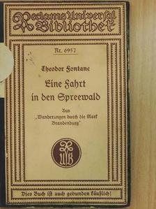 Theodor Fontane - Eine Fahrt in den Spreewald (gótbetűs) [antikvár]