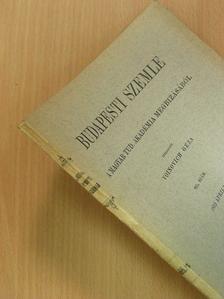 Berzeviczy Albert - Budapesti Szemle 229. kötet 665. szám [antikvár]
