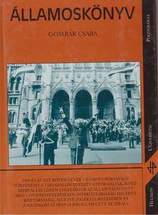 Gombár Csaba - Államoskönyv [antikvár]