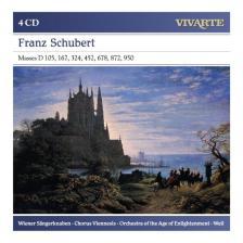 SCHUBERT - COMPLETE MASSES 4CD BRUNO WEIL