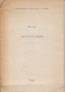 Barta János - Avantgarde [antikvár]