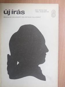 Belohorszky Pál - Új Írás 1982. augusztus [antikvár]