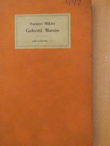 Surányi Miklós - Galeotti Marzio [antikvár]