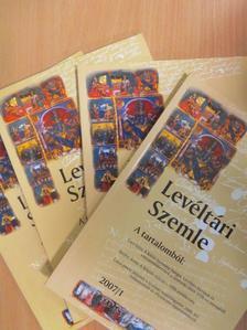 Breinich Gábor - Levéltári Szemle 2007/1-4. [antikvár]