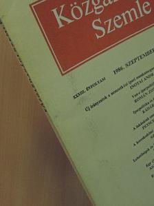 Asztalos László György - Közgazdasági Szemle 1986. szeptember [antikvár]