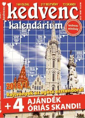 CSOSCH KIADÓ - Kedvenc Kalendárium 2018/1