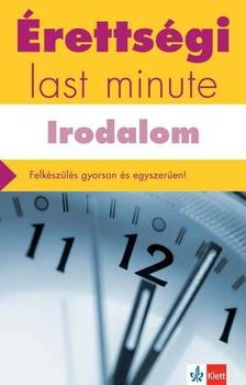 DIÓSZEGI ENDRE - Érettségi - Last minute - Irodalom
