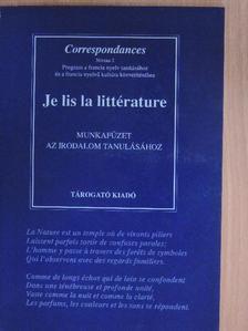 Nagy Géza - Je lis la littérature Cahier de l'éleve [antikvár]