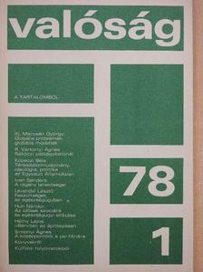 Biernaczky Szilárd - Valóság 1978. január [antikvár]
