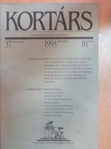Ágh István - Kortárs 1993. október [antikvár]