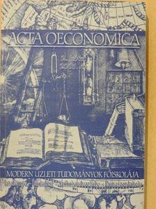Dr. Géró Imre - Acta Oeconomica 2. [antikvár]
