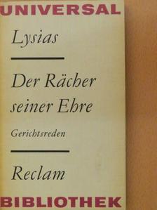 Lysias - Der Rächer seiner Ehre [antikvár]