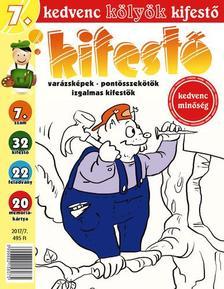 CSOSCH KIADÓ - Kedvenc Kölyök Kifestő 7.