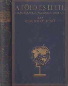 Cholnoky Jenő - A Föld és élete III. - Afrika [antikvár]