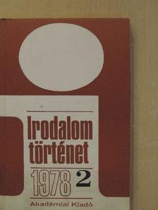 Bárdos Judit - Irodalomtörténet 1978/2. [antikvár]