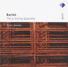 Bartók Béla - THE 6 STRING QUARTETS 2CD KELLER QUARTET