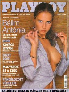 Pósa Árpád - Playboy 2002. október [antikvár]