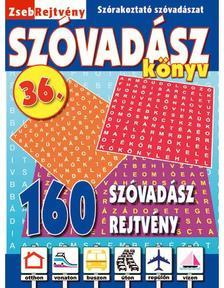 CSOSCH KIADÓ - ZsebRejtvény SZÓVADÁSZ Könyv 36.
