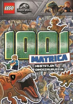 LEGO Jurassic World - Hihetetlen dinoszauruszok 1001 matrica