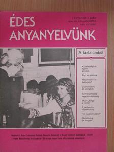 Bencédy József - Édes anyanyelvünk 1979. július-augusztus [antikvár]